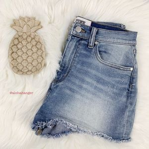 Victoria's Secret PINK High Waisted Jeans Shorts!